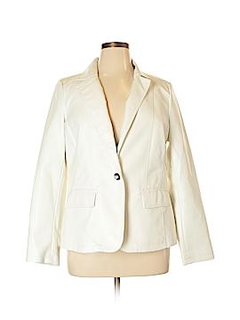 Roz & Ali Faux Leather Jacket Size 14/16