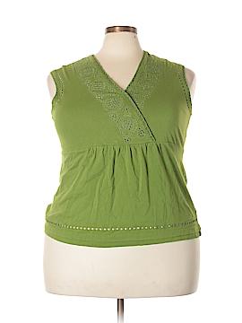 Liz Claiborne Short Sleeve Top Size 1X (Plus)