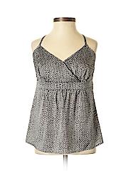 Ann Taylor Women Sleeveless Blouse Size 0 (Petite)