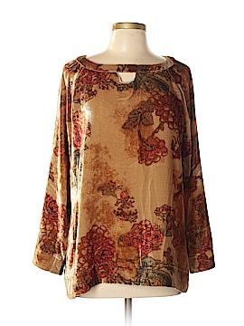 Soft Surroundings Long Sleeve Blouse Size L