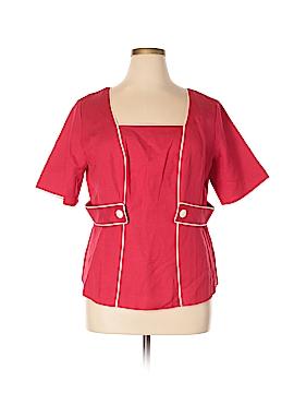 JG HOOK Short Sleeve Blouse Size 16