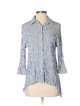 Ro & De 3/4 Sleeve Button-Down Shirt Size S