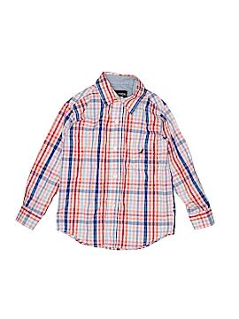 Nautica Long Sleeve Button-Down Shirt Size S (Kids)