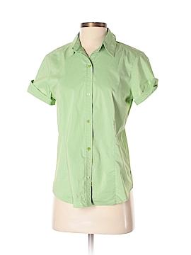 Liz Claiborne Short Sleeve Button-Down Shirt Size S