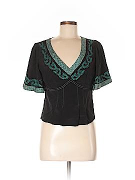 Nanette Lepore Short Sleeve Blouse Size 6