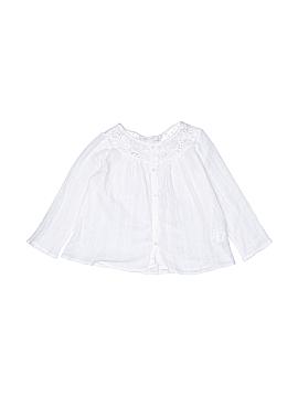Zara Long Sleeve Button-Down Shirt Size 5