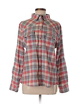Jach's Girlfriend 3/4 Sleeve Button-Down Shirt Size M