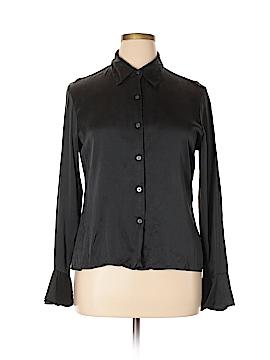 MICHAEL Michael Kors Long Sleeve Silk Top Size 16