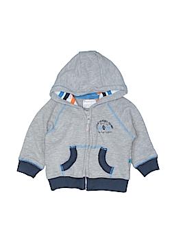 Babaluno Baby Zip Up Hoodie Size 3-6 mo