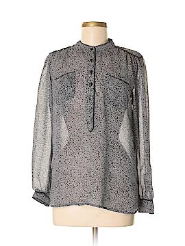 Cynthia Rowley for T.J. Maxx Long Sleeve Blouse Size S
