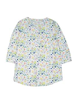 Crewcuts 3/4 Sleeve Button-Down Shirt Size 10