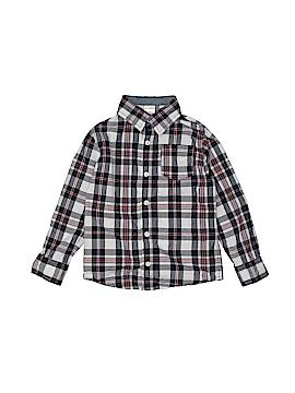 Gymboree Outlet Long Sleeve Button-Down Shirt Size 4T