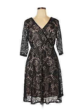Lane Bryant Casual Dress Size 14 (Plus)