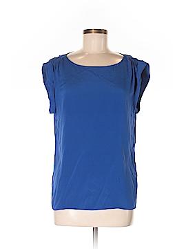 Alice + olivia Short Sleeve Silk Top Size M