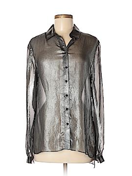 T Tahari Long Sleeve Blouse Size M