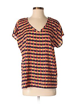 Bobeau Short Sleeve Blouse Size S