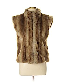 Madison Faux Fur Vest Size M