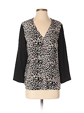 Club Monaco 3/4 Sleeve Silk Top Size S