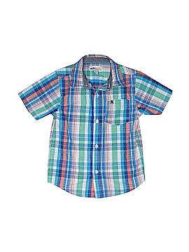 Kids Headquarters Short Sleeve Button-Down Shirt Size 5