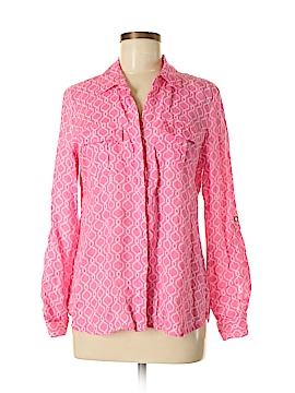 Charter Club Long Sleeve Button-Down Shirt Size M