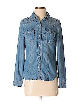 Trouve Long Sleeve Button-Down Shirt Size XS