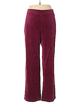 Style&Co Velour Pants Size XL