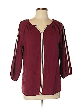 Very J 3/4 Sleeve Blouse Size L