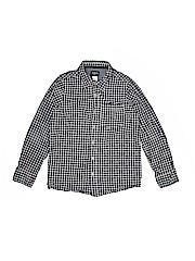 OshKosh B'gosh Boys Long Sleeve Button-Down Shirt Size 10