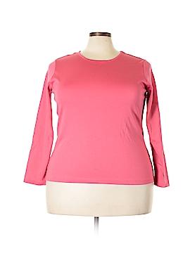 L.L.Bean Long Sleeve T-Shirt Size 1X (Plus)