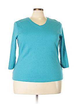 L.L.Bean Long Sleeve T-Shirt Size 2X (Plus)