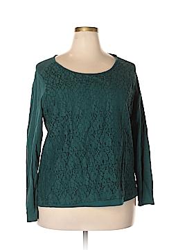 Falls Creek Long Sleeve T-Shirt Size 2X (Plus)