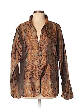 Travelsmith Silk Blazer Size XL