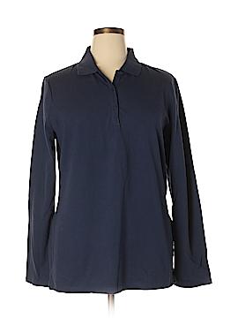 Arizona Jean Company Long Sleeve Polo Size 2X (Plus)
