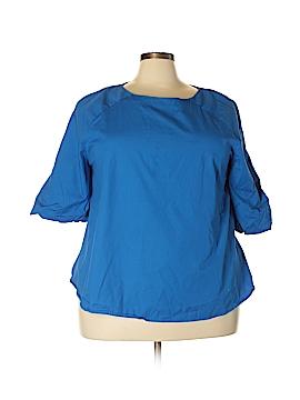 Ashley Stewart 3/4 Sleeve Blouse Size 22 (Plus)
