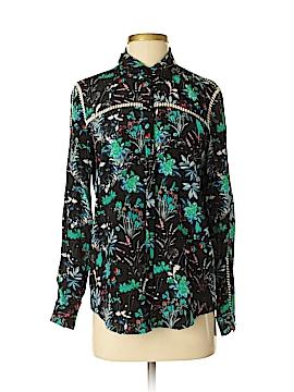 The Kooples Long Sleeve Silk Top Size XS