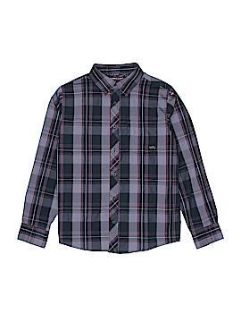 Hawk Long Sleeve Button-Down Shirt Size 14 - 16