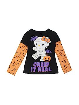 Hello Kitty Long Sleeve T-Shirt Size 4 - 5