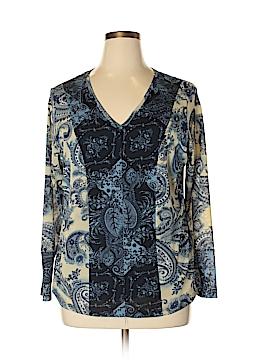 Venezia Long Sleeve Blouse Size 14/16 Plus (Plus)