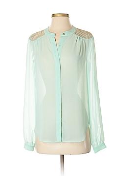 Gianni Bini Long Sleeve Blouse Size S