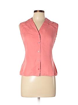 Ann Taylor Factory Sleeveless Button-Down Shirt Size 10