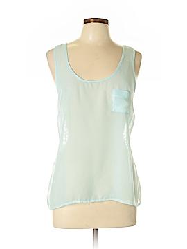 Eyelash Couture Sleeveless Blouse Size L