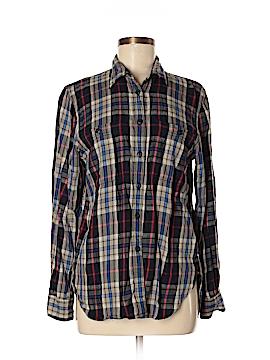 Ralph by Ralph Lauren Long Sleeve Button-Down Shirt Size M