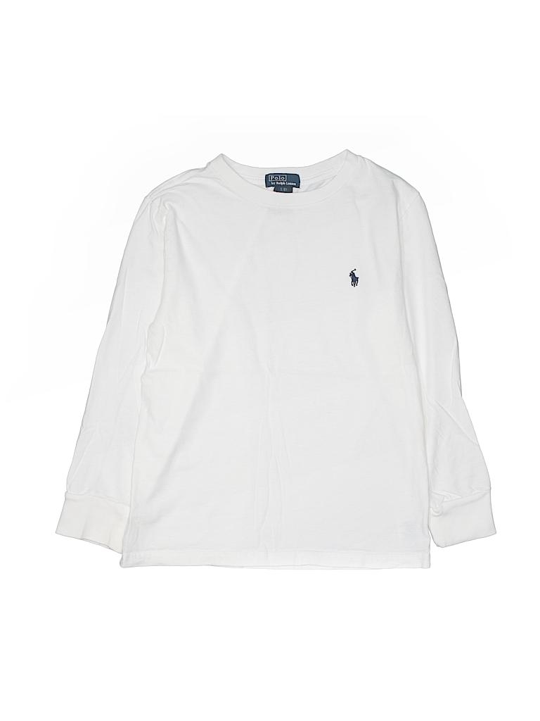 Pin it Polo by Ralph Lauren Boys Long Sleeve T-Shirt Size 8