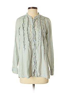 Left of Center Long Sleeve Button-Down Shirt Size XS