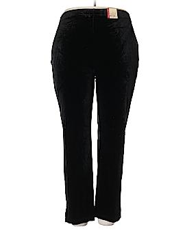 Avenue Velour Pants Size 26/28 Petite (Plus)
