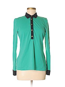 C. Wonder Long Sleeve Polo Size M