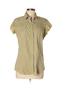 Roper Short Sleeve Button-Down Shirt Size S