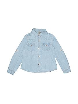 Zara Long Sleeve Button-Down Shirt Size 3T