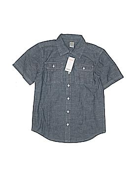 Gymboree Short Sleeve Button-Down Shirt Size 7/8