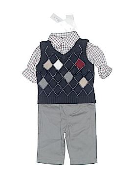 F.A.O Schwarz Long Sleeve Button-Down Shirt Size 3 mo